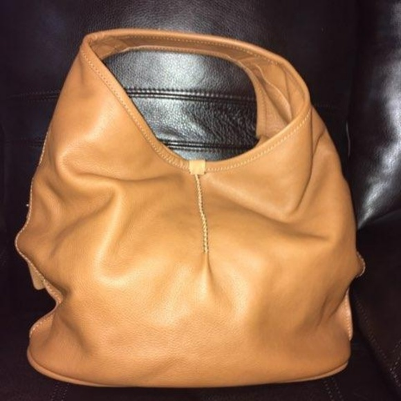 e45c3129004 Camel Colored Leather UGG Tote